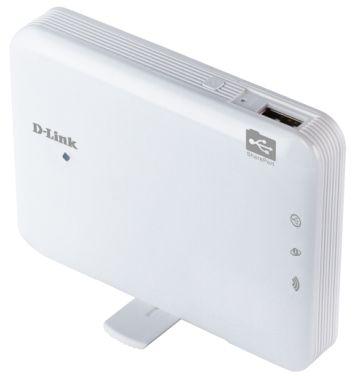 D-Link DIR-506L Right Angle View