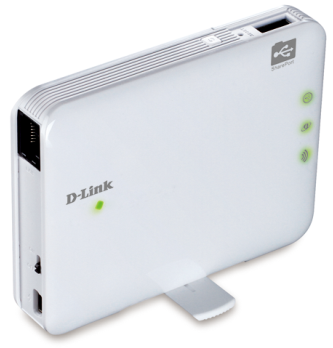 D-Link DIR-506L Left Angle View