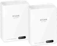 DHP-701AV PowerLine AV2 2000 Gigabit Network Extender Kit