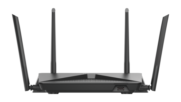 D-Link DIR-882 Back View