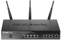 DSR-1000AC Wireless Dual WAN 4-Port Gigabit VPN Router with 802.11ac