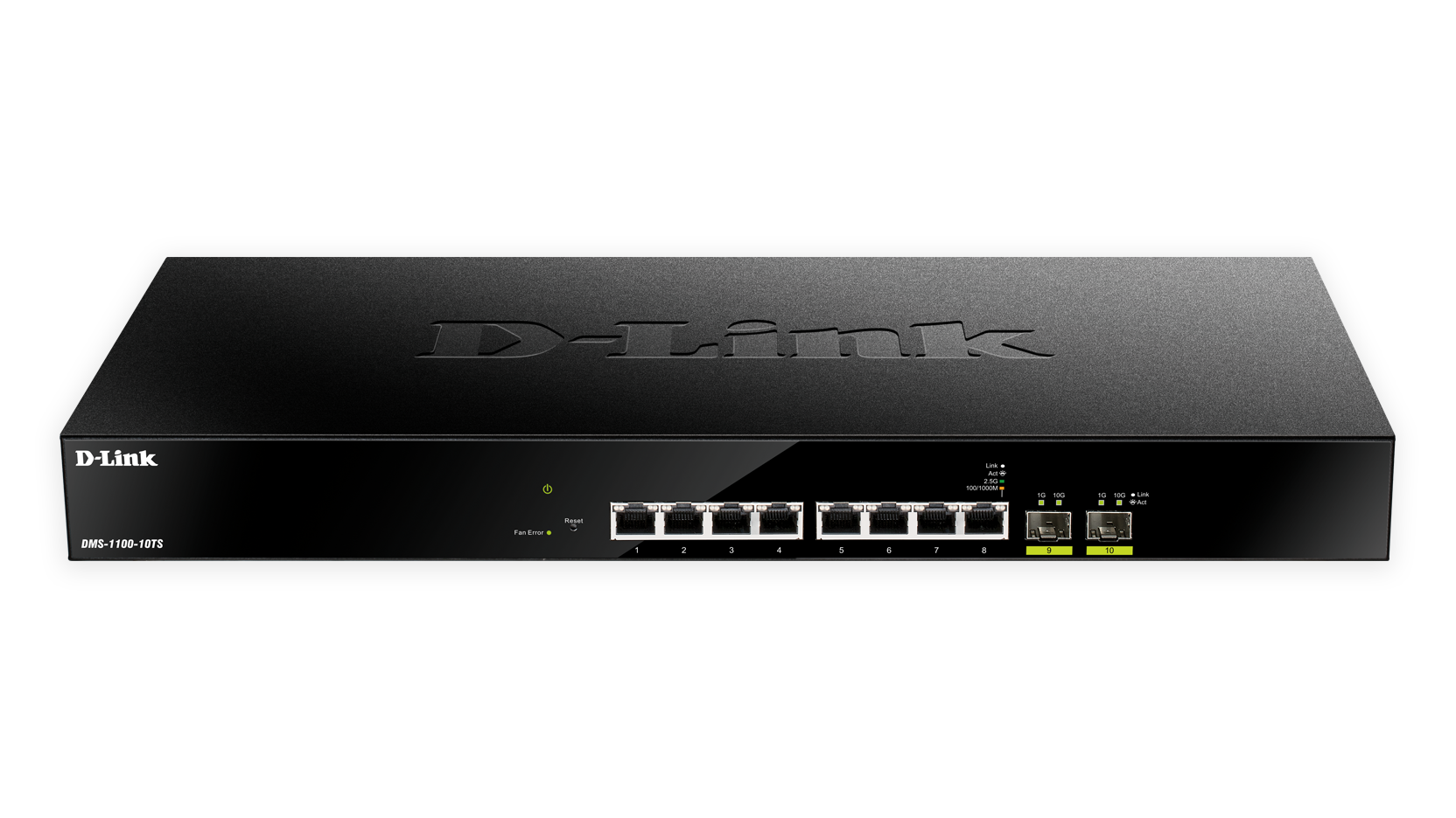 D-Link DMS-1100-10TS Front View