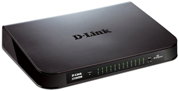 D-Link DGS-1024A Right Angle View