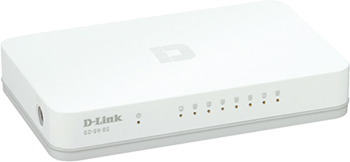 D-Link Go-SW-8G Right Angle View