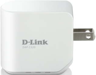D-Link DAP-1320 Right Side View